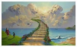 Tmj Chart All Dogs Go To Heaven Outdoor Mat Jim Warren Art