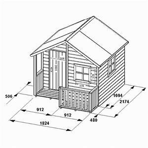 Plan De Cabane En Bois : plan maisonnette en bois gratuit ~ Melissatoandfro.com Idées de Décoration