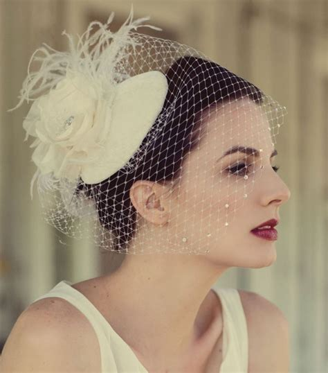 Hats On Pinterest Wedding Hats Birdcage Veils And