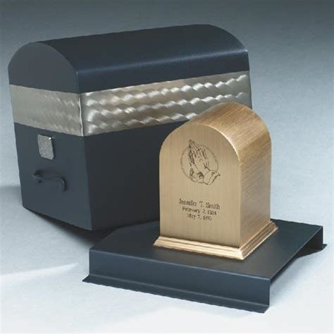 stainless steel pet urn vault