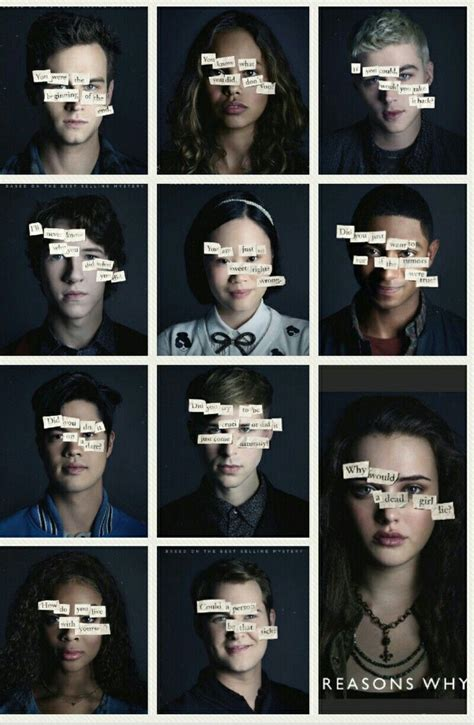 Watch this video to find out what jay asher thinks! Thirteen reason why - tv series | Tv series & Films | Pinterest | 13 reasons, TVs and Netflix series