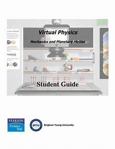 Mechanics User Guide