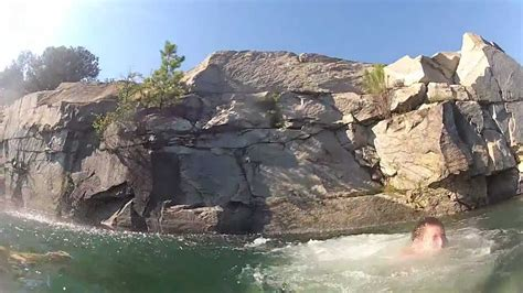 rock quarry loganville  gopro hd hero  youtube