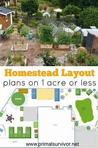 Homestead Layout Plans On 1 Acre Or Less