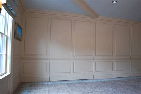 Full Wall Conference Room Wainscoting