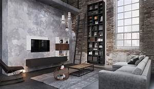 Meubles De Salon Contemporains Esprit Loft Modle