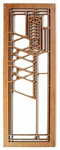 frank lloyd wright robie 2 wood art screen wall panel With kitchen cabinets lowes with frank lloyd wright metal wall art