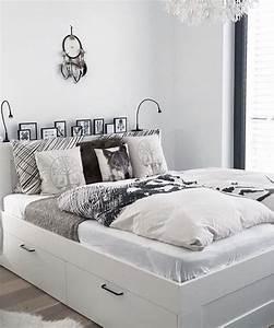 Ikea Bett Kinderzimmer : ikea brimnes bett schlafzimmer pimpikea t a n n n y schlafzimmer pinterest bedroom ~ Frokenaadalensverden.com Haus und Dekorationen