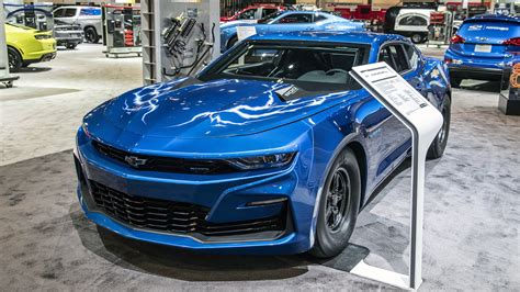 Chevrolet eCOPO Camaro is a 700-hp electric drag racer ...