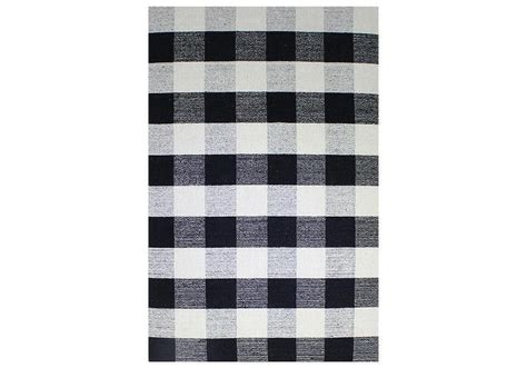 black  white morocco rug