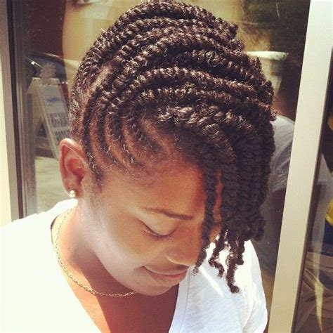 Flat Twist Hairstyles by Flat Twist Updo Hairstyles For Black Hairstylo