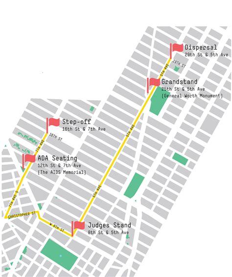 york city pride march road closures  security