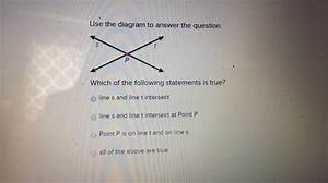 Use The Diagram To Answer The Question  Which Of The