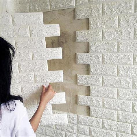 Brick 3d Wallpaper Sticker by Pe Foam 3d Brick Wall Sticker 39 70cm Home Decor