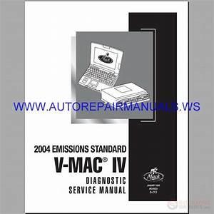 Mack Mp8 Engines Diagnostic Service Manual 2004