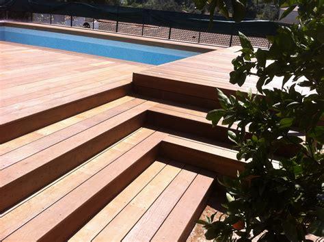 modele d escalier exterieur escalier en bois exotique pour vos exterieurs parquet et terrasse en bois aix en provence les