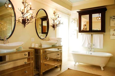 oval mirrors   bathroom decor snob
