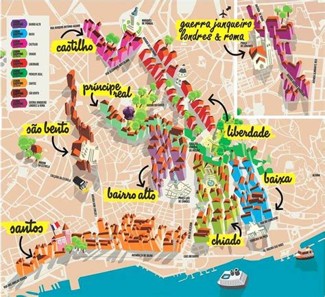 lisbon shopping destination map lisbon shopping