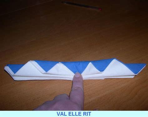 pliage serviette papier facile pliage serviette papier 2 couleurs facile meilleur de