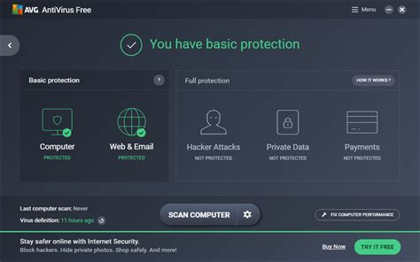 Best Virus Scan Software Avg Antivirus Free Free And Software Reviews