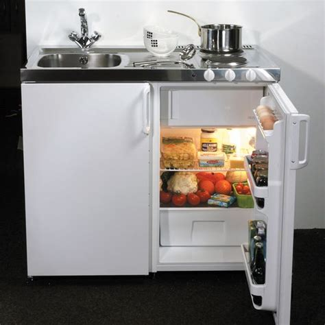 compact kitchen units stove sink and stainless steel sinks on