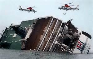 Sinking MV Sewol