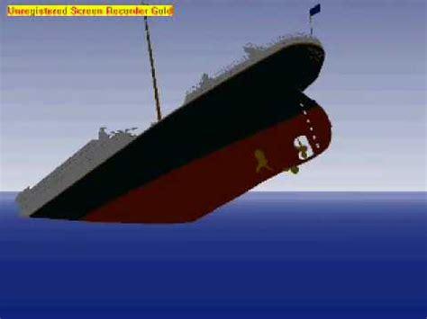 Minecraft Titanic Sinking Animation by Titanic Animation