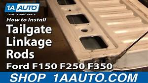 How To Replace Tailgate Linkage Rods Ford 92 250