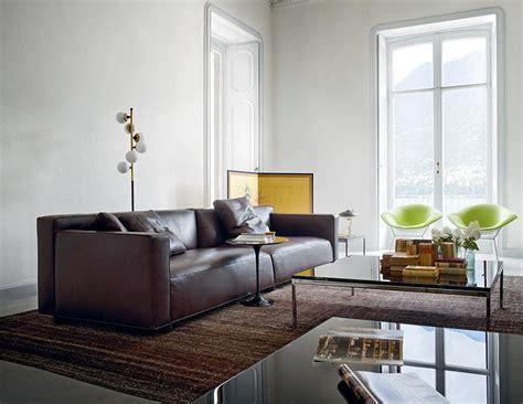 Braunes Sofa Kombinieren by Braunes Ledersofa Bilder Ideen
