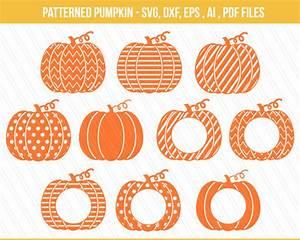 pumpkin svg dxf pumpkin monogram pumpkin clipart halloween With monogram pumpkin templates