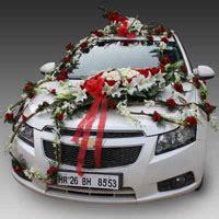 wedding car decoration  india