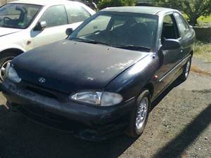 1998 Hyundai Excel X3 Gx 5 Sp Manual 1 5l Multi Point F