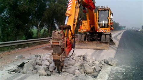 jack hammer excavator  awais malik  youtube