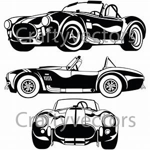 Shelby AC Cobra 67 Vector File from CraftyVectors on Etsy ...