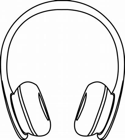 Headphones Drawing Clipart Headphone Easy Computer Cool