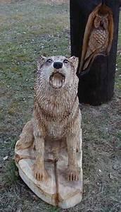 Kettensäge Schnitzen Anfänger : holzkuenstler wolf kettens ge pinterest schnitzen holzbildhauer und holz schnitzen ~ Orissabook.com Haus und Dekorationen