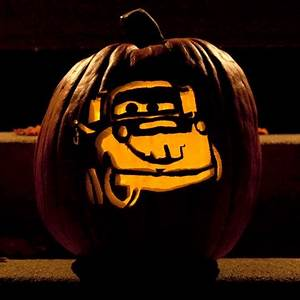 Tow Mater Pumpkin Carving Template | Disney Family