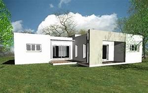 modele itahuba un plain pied tres moderne maisons With construire ou acheter une maison