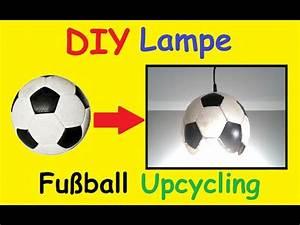 Fussball Deko Kinderzimmer : diy fussball lampe selber machen kinderzimmer em 2016 ~ Watch28wear.com Haus und Dekorationen
