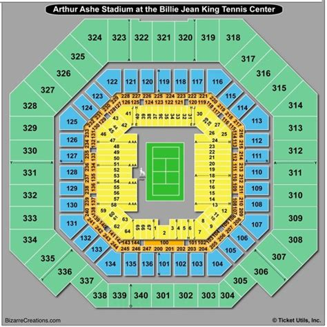 Arthur Ashe Stadium Seating Review Home Decor