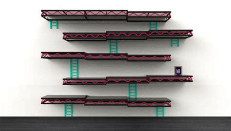 Donkey Kong Wall Shelf Unit By Igor Chak Is Inspired By