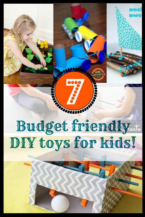 7 Budget Friendly Diy Toys For Kids! Discountqueenscom