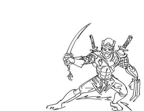 printable ninja coloring pages coloringstar