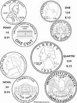 Coloring Money Coins Coin Learning Printout Printable Quarter Enchanted Scout Drawing Daisy Sheets Dollar Geld Math Activities Enchantedlearning Zelf Kunnen sketch template