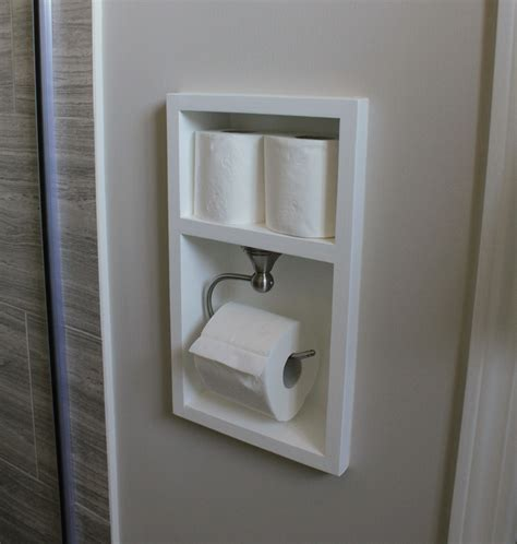 shower recessed shelves turtles and tails ensuite bathroom reno reveal