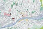 Frankfurt tourist map
