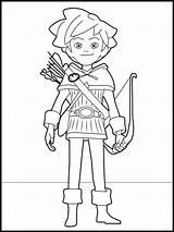 Coloring Robin Hood Kleurplaat Colorare Colorir Ausmalbilder Desenhos Minecraft Printen Pintar Dibujos Colorear Imprimir Robinhood Disegni Malvorlagen Kleurplaten Tekening Disney sketch template