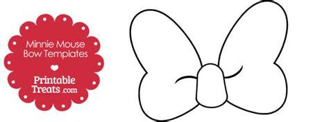 printable minnie mouse bow template printable treatscom