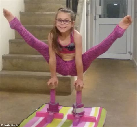 gymnastics mat uk gymnast performs mind blowing contortionist routine