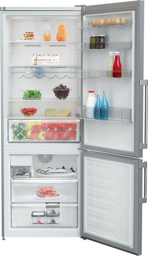brfbss blomberg   cu ft bottom freezer refrigerator ice maker stainless steel